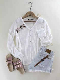 Chenille Button Down Sweater. Ivory chenille sweater. Trendy chenille sweater. Button down cardigan. Spring sweater. Spring style. Spring trend. Spring outfit inspo. Casual spring style. Comfy spring style. New arrivals at therollinj,com.
