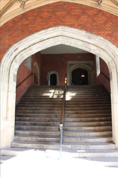 Stairs leading to Henry VIII's State Apartments At Hampton Court Palace
