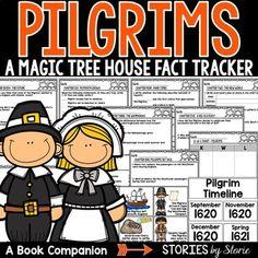 Magic Tree House Fact Tracker: Pilgrims (A Nonfiction Companion)