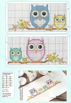 """951d1c08467ba1f8483518f1f41f52d6.jpg 1.098×1.600 piksel [ """"owls on a branch"""" ] #<br/> # #Crossstitch,<br/> # #Sulaman,<br/> # #Ukraine,<br/> # #Branches,<br/> # #Owl,<br/> # #Try,<br/> # #Owls,<br/> # #Embroidery,<br/> # #Projects<br/>"""