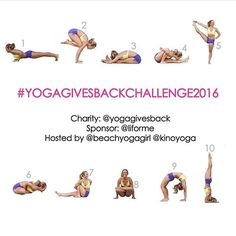 I mean...it's going to charity and starts around the time the other challenges end (Sep 20-29). Y'all should join me!  #yogagivesbackchallenge2016 #yogachallenge #yoga #challengeaccepted @yogagivesback @liforme @kinoyoga @beachyogagirl