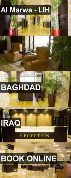 Hotel Al Marwa - LIH in Baghdad, Iraq. For more information, photos, reviews and best prices please follow the link. #Iraq #Baghdad #travel #vacation #hotel