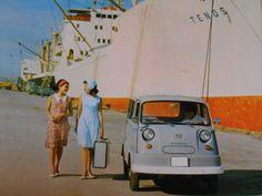 『★1961年 スバル サンバー 愛しのペコちゃん ~自動車カタログ棚から 090』