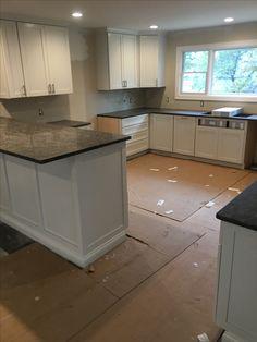 Beton Cire Beschichtung Auf Alte Fliesen Boden Und Wandund - Küchenboden alternative zu fliesen