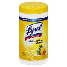 Lysol Disinfecting Wipes, Lemon and Lime Blossom, 80 Count - Walmart.com