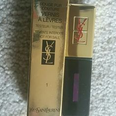 Lipstain The very famous YSL lipstain.  These pigments are true color and really do last all day long. Used on red carpet events on all the stars.  I make my brides buy them for their wedding night. Yves Saint Laurent Makeup Lipstick