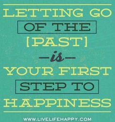 Letting go quote via www.LiveLifeHappy.com