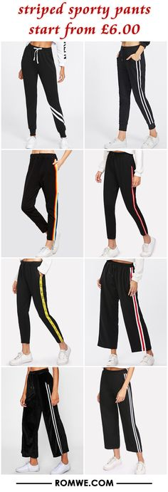 striped sporty pants from £6.00