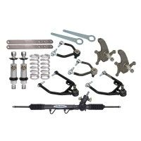 Total Control Products Front Subframe Suspension Kit Restomod System With Small Block Ford Springs 1965-1970