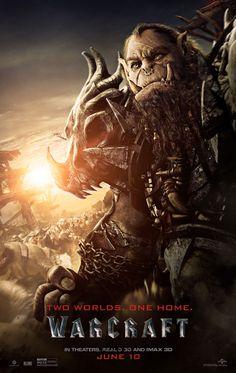 Warcraft - O Primeiro Encontro de Dois Mundos   Cartazes apresentam homens e orcs   Omelete