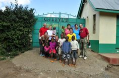 Volunteering at Cheryls Children Home