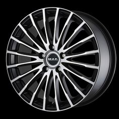 Ruote Universali - Fatale Ice Black Chrysler Voyager, Rims For Cars, Rims And Tires, Mazda 6, Muscle Car Rims, Maserati Quattroporte Gts, 308 Gti, Bmw Serie 7, Chrysler 300m