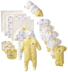 This cute gender neutral baby set is perfect if you want to make your very own mother-to-be gift basket - #mothertobegifts #babyshowergifts #mothersdaygifts - Best Mother-to-be Gifts for Mother's Day - Holly Day