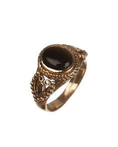 Striking Gold Plated Semi-precious Stone Ring | Rs. 350 | http://voylla.com
