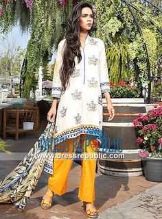 Pakistani Designer Lawn Dresses for Summer by Orient  2014 Vol 2 Pakistani Designer Lawn Dresses for Summer by Orient Textiles in Millbourne