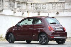 Fiat 500 Versione Lounge (2015- N/A) Fiat 500, New Fiat, Fiat Abarth, Car Goals, City Car, First Car, Love Car, Small Cars, Italian Style