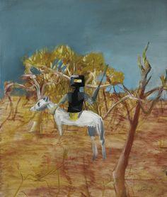 Sydney Nolan: Kelly in Bush 1955 from the Ned Kelly series Australian Painting, Australian Artists, Sidney Nolan, Victoria Art, Ned Kelly, Penguin Art, Paintings I Love, Art Auction, Cool Artwork