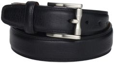 Cole Haan Men's Aulden Belt, Black, 40 Cole Haan. $55.00. Hand Wash. Burnished leather. 90% Leather/10% Cotton. Made in India. Brushed nickel buckle