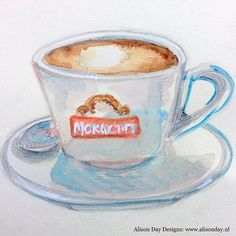 #Cappuccino -  Day 40/100 !🙃☕️ #the100dayproject #100daysfoodanddrink