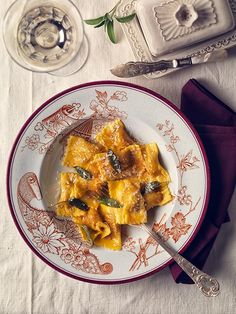 Tortelli di Zucca (Pumpkin Tortelli) by Alessandro Guerani