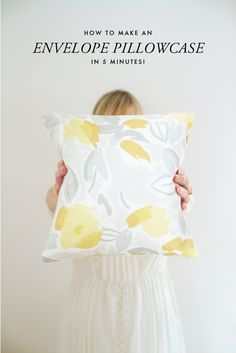 How to Make an Envelope #Pillowcase in 5 Minutes | Laura Ashley USA