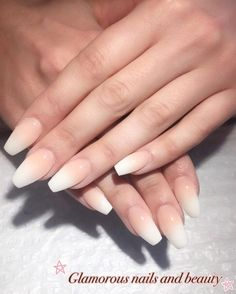 7. French Nails | There's nothing better than nude nails to perfect back to school outfits! Check out these super cute designs to complete the look!