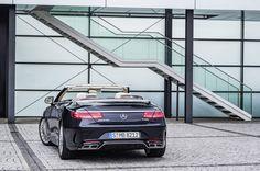 The new Mercedes-Benz S 65 AMG Cabrio, Exterieur: anthrazithblau #mercedes #mbhess #cabrio #sclass