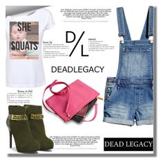 """""""✮ Show Your Fall Dead-Legacy Style ✮"""" by fattie-zara ❤ liked on Polyvore featuring Dead Legacy, CHARLES & KEITH and deadlegacy"""