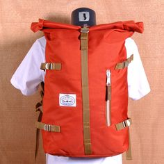 """Length: 27""""  Width: 4""""  Height: 16""""  Volume: 22 Liters  Fabrication: 1000D Campdura Body, 420D Nylon Lining, Nylon Webbing Straps  Features: Storage Compartment, Padded Laptop Sleeve"""