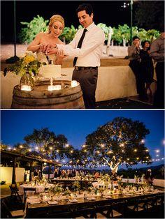Shabby Chic Winery Wedding