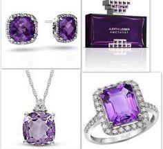 purple accessories