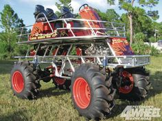 Swamp Buggy. Pretty sexy looking. Four Wheelers, Mini Trucks, Monster Garage,