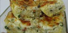 Μακαρονόπιτα με Φέτα και Φρέσκο κρεμμυδάκι Quiche, Breakfast, Food, Morning Coffee, Essen, Quiches, Meals, Yemek, Eten