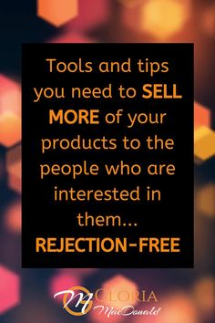 """Do you want to sell more of your products or services?  But you just don't know what to say.  Maybe you feel like you're fumbling all over the place Maybe you feel pushy and salesy  I'm going to be giving you my super simple """"Product Promo Script"""" to help you sell MORE products with EASE..  In this blog, you'll get...  All the tools and tips you need to sell MORE of your products to the people who are already interested in them... REJECTION-FREE."""