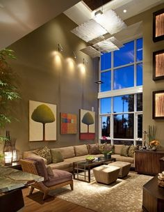 Huxford Bayside - contemporary - living room - san diego - James Patrick Walters
