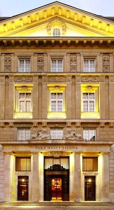Park Hyatt Vienna-Marie Mimran Classical Interior Design, Lady Luxury, Vienna Austria, Travel Information, Hotels And Resorts, Claire, Palace, Cities, Fishing