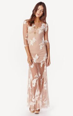 8d4bdd1734cf orchid maxi dress by For Love and Lemons | PLANET BLUE Coco Chanel, White  Maxi