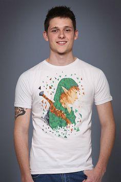 moda geek camiseta the legend of link