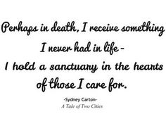 one of my favorite quotes ever sydney carton a tale of two  sydney carton quotes a tale of two cities charles dickens