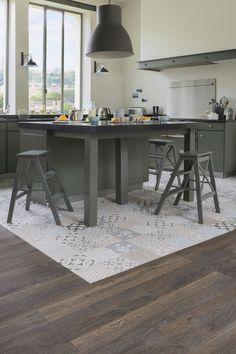 19 revêtements de sols pour une cuisine au top