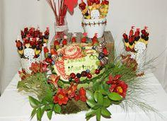 Mesa de frutas #bodas #eventos @artdefruita