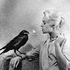 Really? You cannot even light your own cigarette Darcy? Weird, freakin' bird! ; )