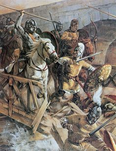 Battle at Milvian Bridge, 312 A. (:Tap The LINK NOW:) We provide the best essential unique equipment and gear for active duty American patriotic military branches, well strategic selected.We love tactical American gear Historical Art, Historical Pictures, Ancient Rome, Ancient History, Roman Soldiers, Roman History, Byzantine Art, Dark Ages, Roman Empire