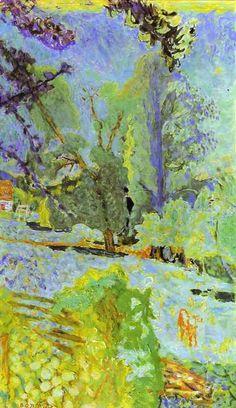 Landscape in Normady by Pierre Bonnard
