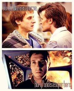 Rory Williams is a nurse. Rory Pond is a superhero. ha- just like what Amy said about Melody.