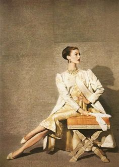Mary Jane Russell photographed by Louise Dahl-Wolfe, 1949. | More fashion lusciousness here: http://mylusciouslife.com/photo-galleries/historical-style-fashion-film-architecture/