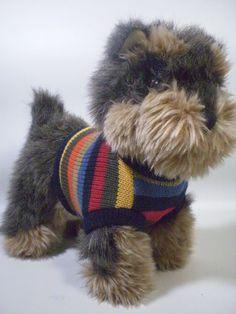 Russ Berrie Cocker Spaniel Stuffed Animal Plush Black