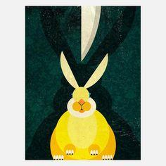 Bunny print $26 Fab.com
