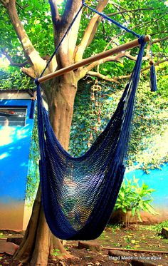 "Handmade by Artisan from Masaya, Nicaragua, these hammocks will sure look great in your backyard this spring or at the beach this summer. Made from 100% Cotton. This is one ""comfortable hammock.""        Meant for 1 Person  48"" bar  weighs 9 lbs  weight limit 330lbs    (copy)    https://www.almanzahammocks.blogspot.com"
