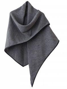 Omslagdoek SjaalMania The Wrap Grey